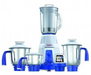 Prestige Deluxe Plus VS 750 Juicer Mixer Grinder 5 Jars