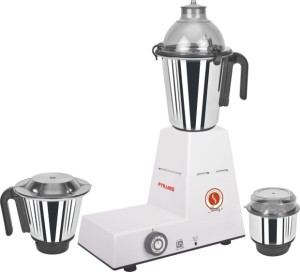Pyramid Domestic Plus 750 W Mixer Grinder White & Black, 3 Jars