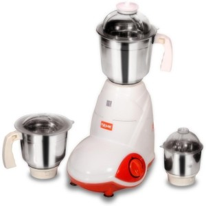 Reme Crazy 550 W Mixer Grinder White, 3 Jars