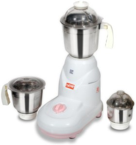 Reme Legend 550 W Mixer Grinder White, 3 Jars