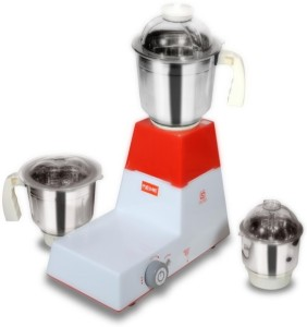 Reme Regular 550 W Mixer Grinder White, 3 Jars