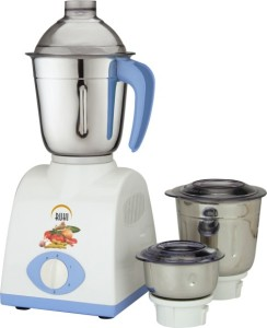 Ruhi AM 28 500 W Mixer Grinder Blue, White, 3 Jars