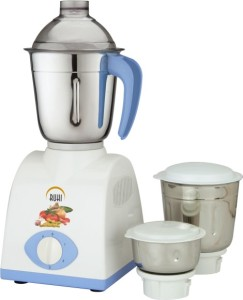 Ruhi AM 28A 500 W Mixer Grinder Blue, White, 3 Jars