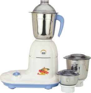Ruhi AM 91/750 750 W Mixer Grinder Blue, White, 3 Jars