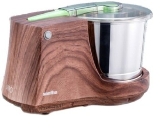 Santha Stylo Wood Coating 90 W Mixer Grinder Brown, 1 Jar