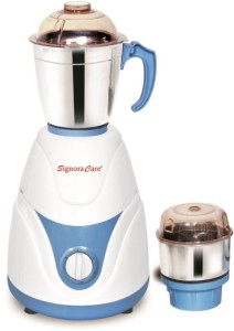 SignoraCare Eco Plus 500 W Mixer Grinder White, 2 Jars