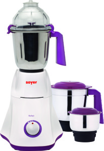 Soyer Soyer Perfec Series Mixer Grinder 750 W Mixer Grinder Purple, 3 Jars