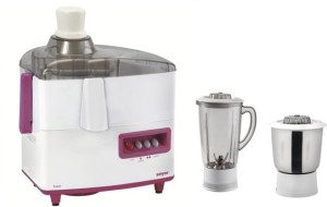 Soyer Soyer Super Series Juicer Mixer Grinder 450 W Juicer Mixer Grinder Purple, 2 Jars