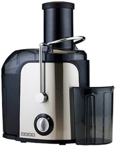 Usha JC-3240 400 W Juicer Silver and black, 1 Jar