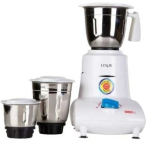 Usha MG 2753 550 W Mixer Grinder White, 3 Jars