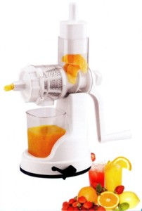 Your Choice Manual Fruit / Vegetable Ultra Juicer White, 1 Jar