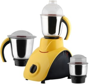 Anjalimix Corby Yellow 750 Watts 750 W Mixer Grinder