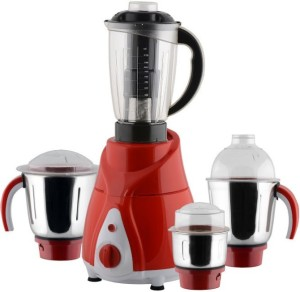 Anjalimix Spectra Red 750 Watts 4 Jars 750 W Mixer Grinder