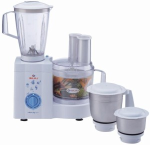 Bajaj Master Chef Food Processor 600 W Juicer Mixer Grinder