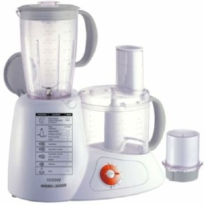 Black & Decker FX 1000 Smart Chef Food Processor 1000 W Juicer Mixer Grinder