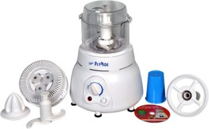 Flyride Plastic Vertical Dough Maker 350 W Juicer Mixer Grinder