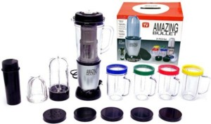 Gabberr Amazingbullet 21 Pcs Desire Blender Magic Transparent Jar 250 W Juicer 250 W Juicer Mixer Grinder
