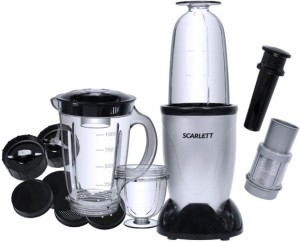 Magic Bullet Scarlett 250 W Juicer Mixer Grinder