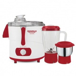 Maharaja Whiteline Marvello 450 W Juicer Mixer Grinder