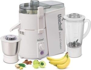 Unichef Juice-O-Matic Plus SM Series 835 W Juicer Mixer Grinder