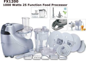 Black & Decker FX1200 Food Processor 1000 W Juicer Mixer Grinder