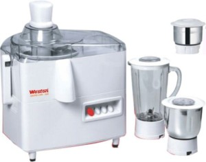 Weston Master Chef- 500 W Juicer Mixer Grinder