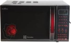 Electrolux C25K151.BG-CG 25 L Convection Microwave Oven Floral Red