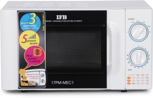 IFB 17PM-MEC 17 L Solo Microwave Oven Silver
