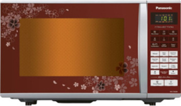 Panasonic NN-CT662M 27 L Convection Microwave Oven Floral Red