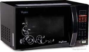 Whirlpool Magicook 20L Elite-Black New 20 L Convection Microwave Oven Black